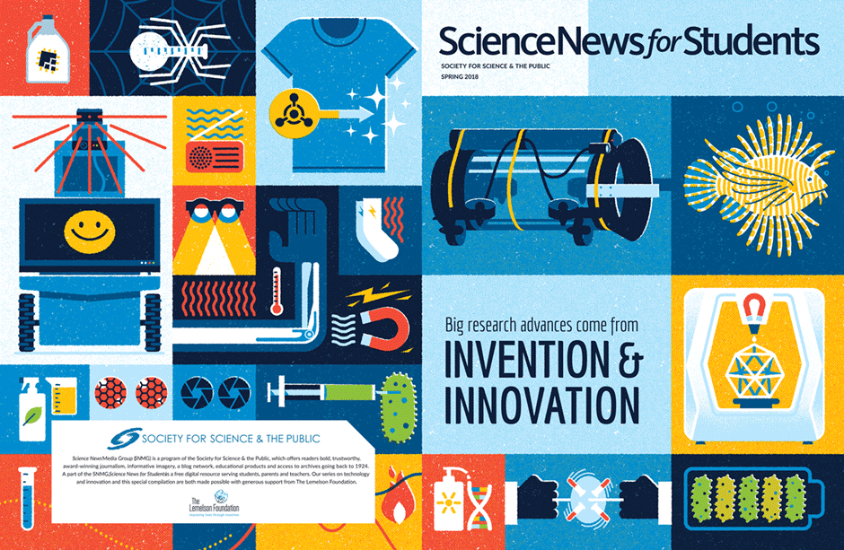 Science News for Students – Textbook Example